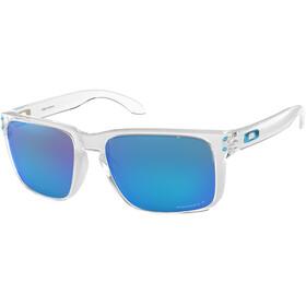 Oakley Holbrook XL Okulary rowerowe niebieski/przezroczysty